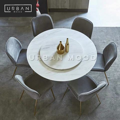 JEWEL Contemporary Marble Dining Table