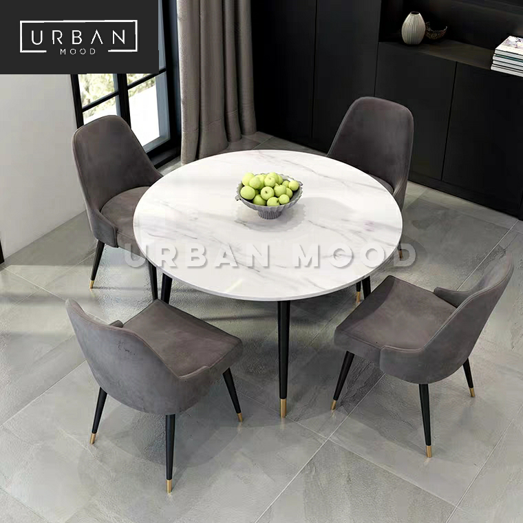 BASTIAN Modern Marble Dining Table