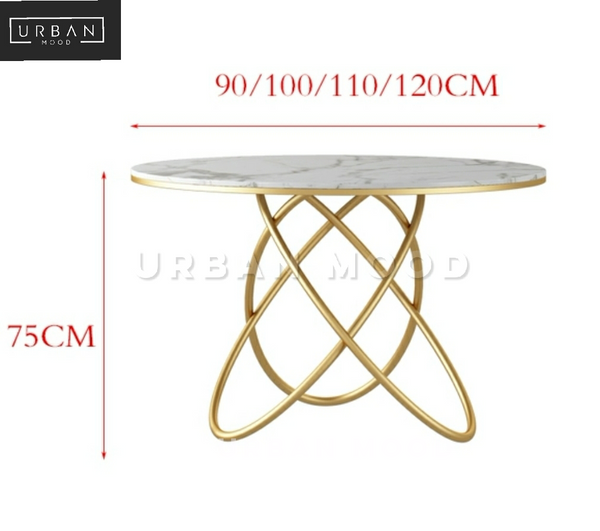 PLEDGE Contemporary Marble Dining Table