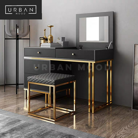 DWELL Contemporary Flip Top Vanity Table