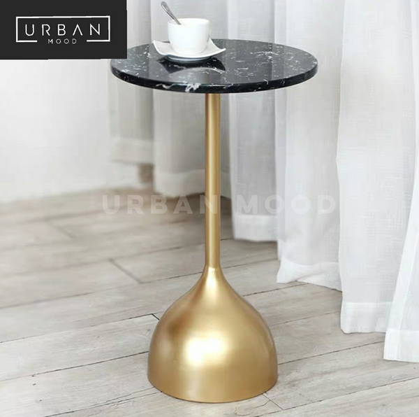 BELL Minimalist Marble Side Table