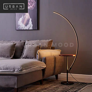CLARIS Minimalist Horizon Side Table Lamp