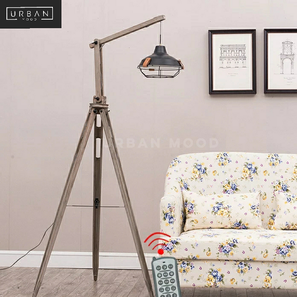 HENLEY Vintage Tripod Floop Lamp