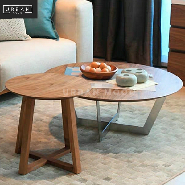 BOWMAN Round Nesting Coffee Tables