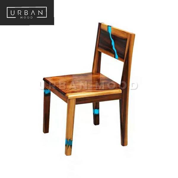 NILE Designer Epoxy Resin Dining Chair