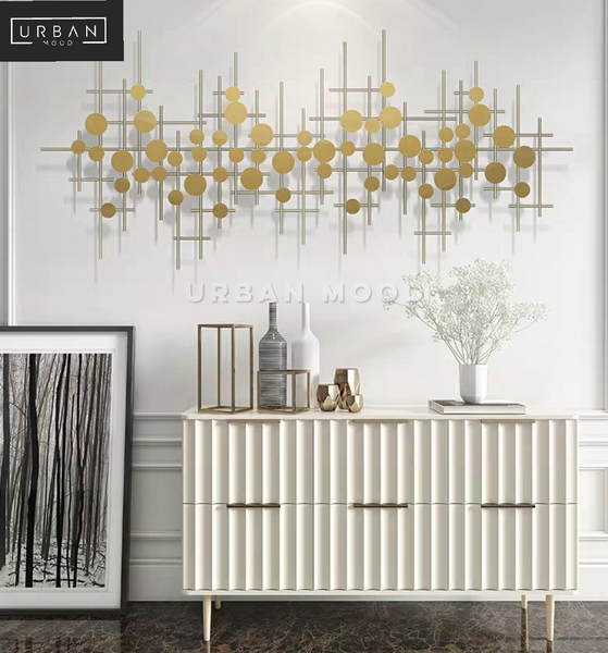 CHANCE Luxury Gold Wall Art