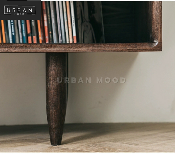 CRATE Rustic Solid Wood TV Console