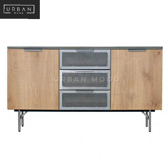 HUB Industrial Metal Sideboard