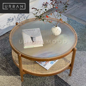 ACORN Rustic Round Coffee Table