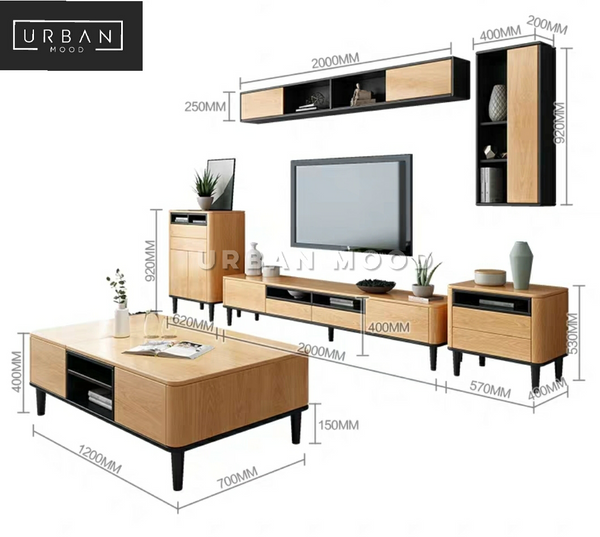 CODEN Scandinavian TV Console