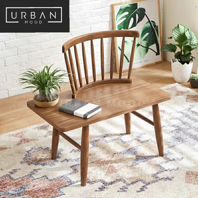 JONAH Rustic Side Table Lounge Chair