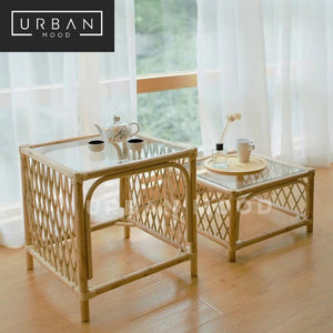 ROUGE Rattan Accent Coffee Table