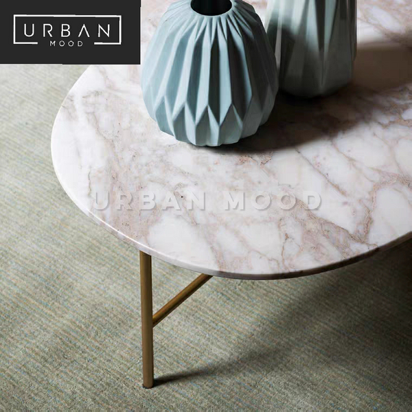 DULCET Luxury Marble Coffee Table