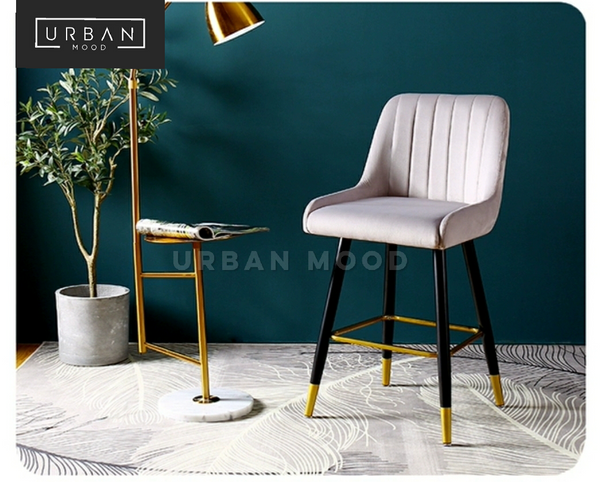 RELISH Classic Velvet Bar Chair