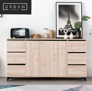 LAWSON White Oak Sideboard