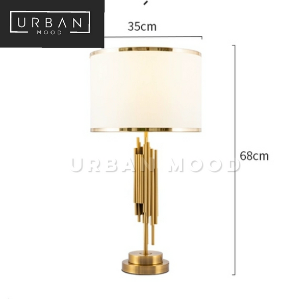 VOX Luxury Gold Table Lamp