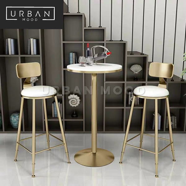 NOVA Modern Marble Bar Table & Chairs