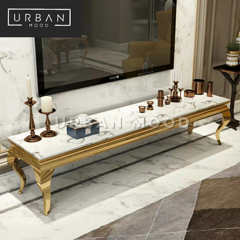 PONTE Luxury Marble TV Console