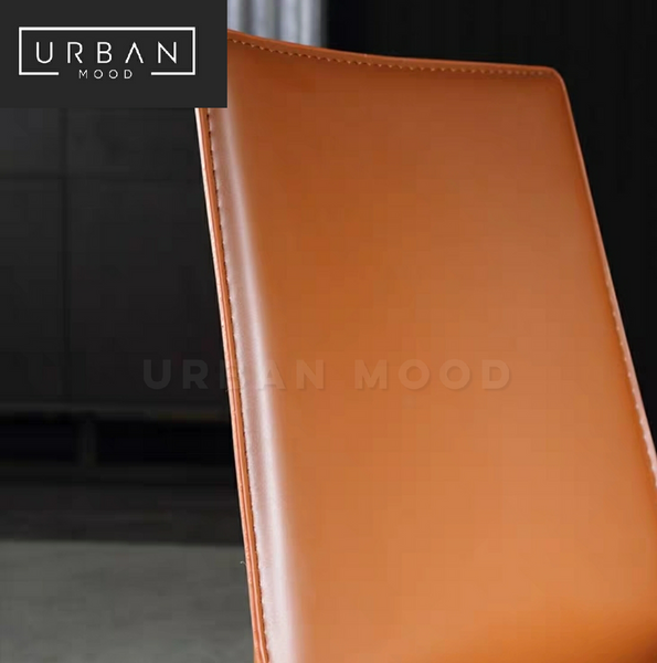 CARBON Modern Faux Leather Dining Chair