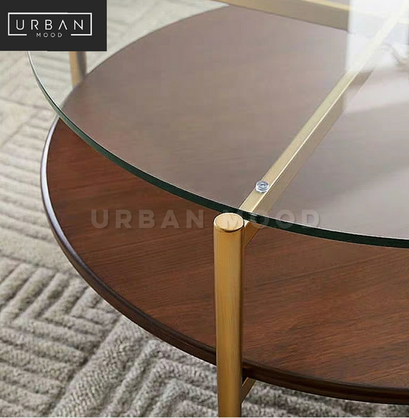 LAREN Postmodern Round Coffee Table