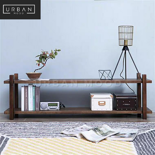 ESTATE Rustic Solid Wood TV Console