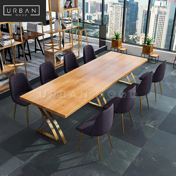 COVENT Modern Solid Wood Office Table