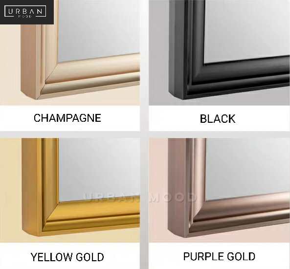 FAY Classic Gold Wall Mirror