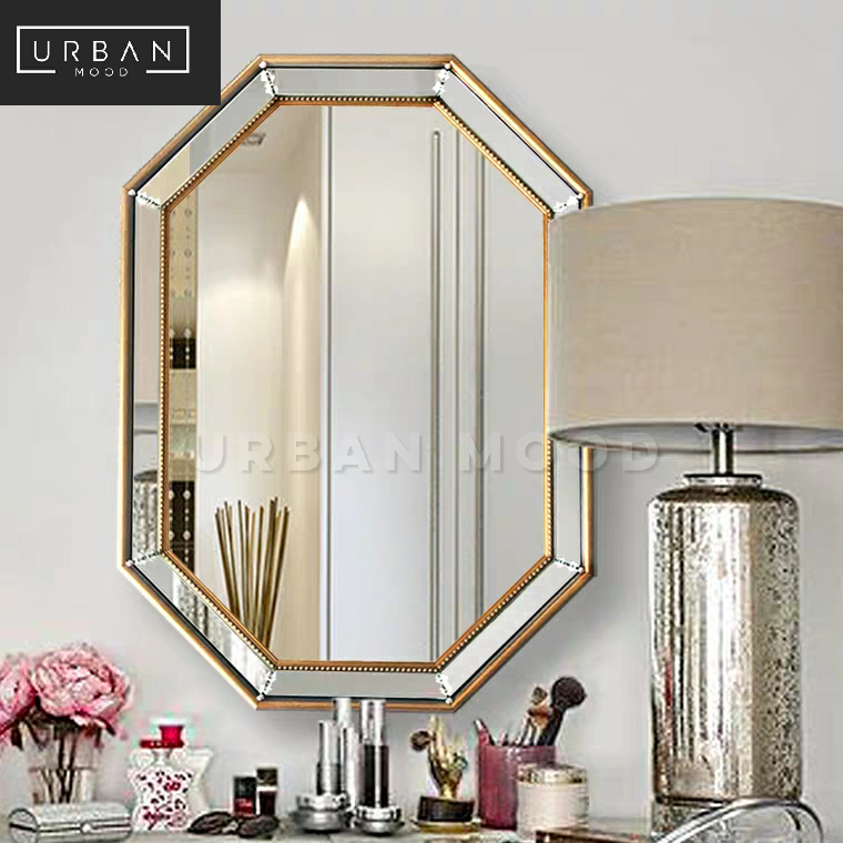 LUNE Victorian Accent Wall Mirror