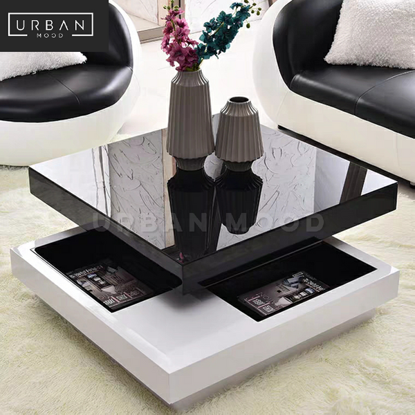 LUSTRO Modern Glossy Coffee Table