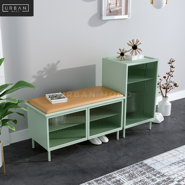 ROYALS Modern Shoe Cabinet Bench