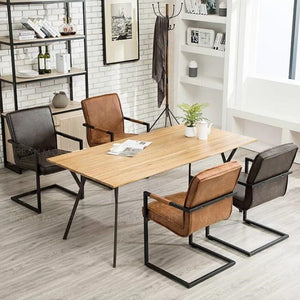 MAD MEN Modern Rustic Dining Office Chair