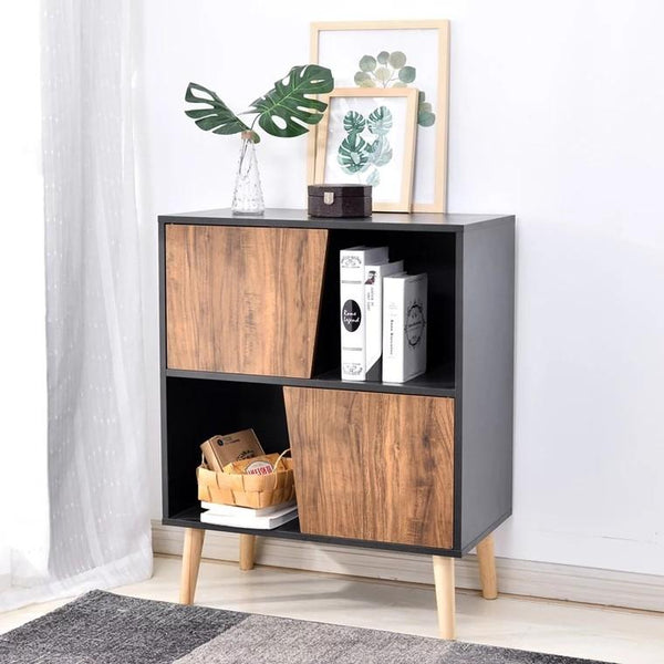 MAPLE Modern Rustic TV Console + Cabinet