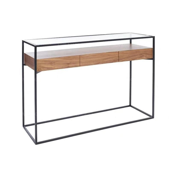 MODA Modern Industrial Floating Display Cabinet Drawers
