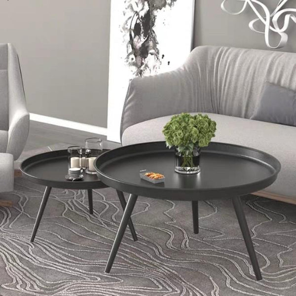 MONO Round Nesting Tray Coffee Table