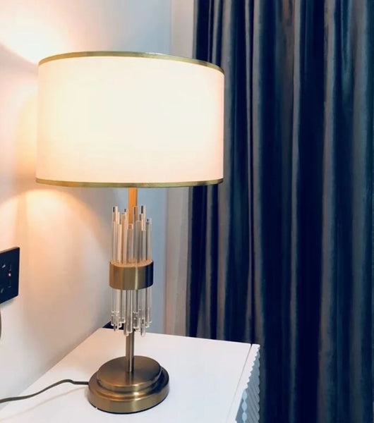 SUMIO Luxury LED Glass Strip Bedside Lamp