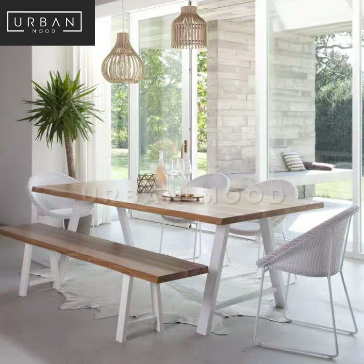 MICHIGAN Scandinavian Solid Wood Dining Table