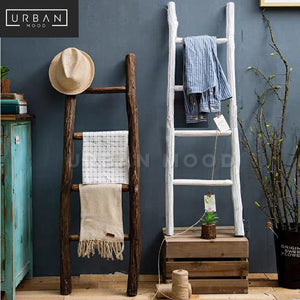 MOBLER Solid Wood Ladder Rack