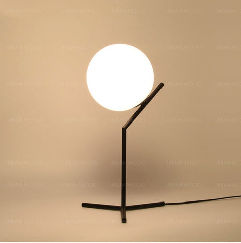 NOBLE Full Moon Contemporary LED Table Lamp
