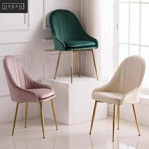NOUVE Modern Velvet Dining Chair