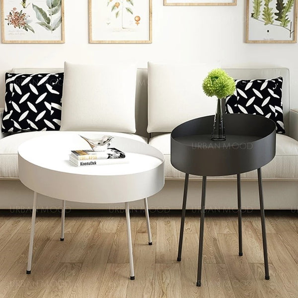 PANSY Pop Art Saucer Side Table
