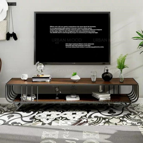 PARIS Marble Wireframe TV Console