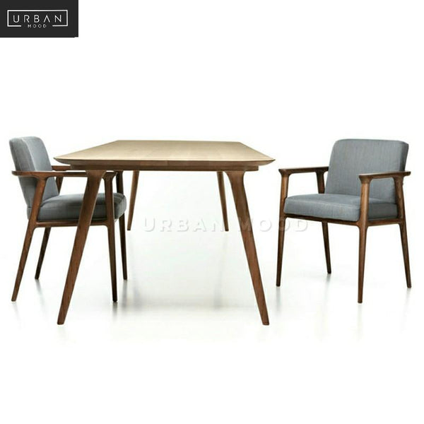 PRESTON Solid Wood Dining Table