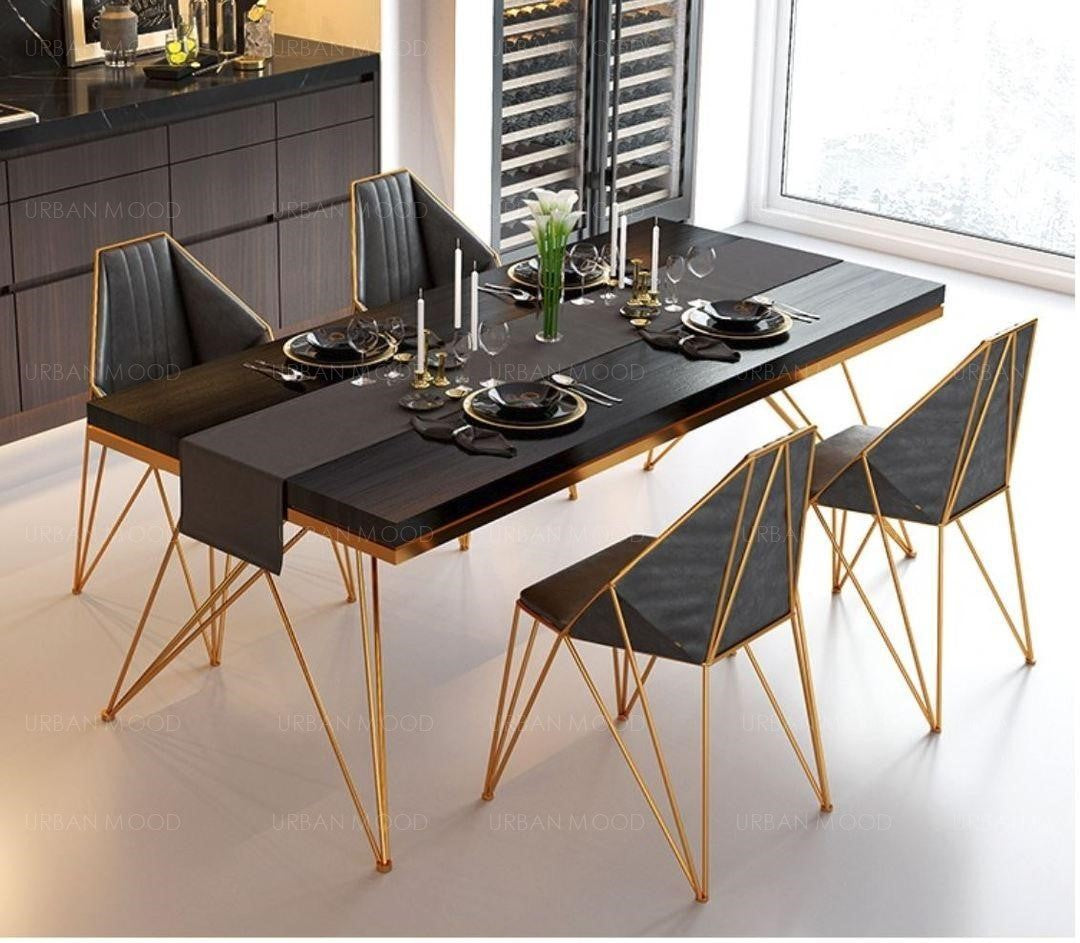 REGAL Modern X Frame Dining Cafe Chairs
