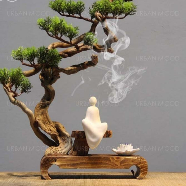 RONIN Zen Meditative Bonsai Aroma Diffuser Decoration