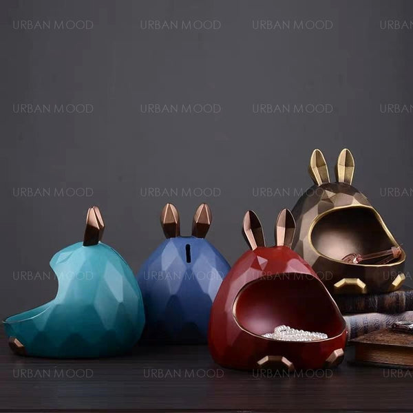 SATIN Rabbit Jewelry Holder Organizer