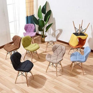 SHERRY Geometric Colour Pop Office Chair
