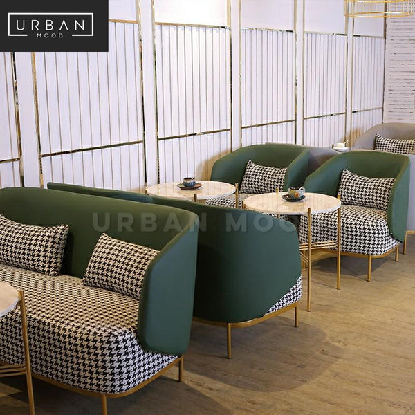 SPACER Modern Cafe Sofa