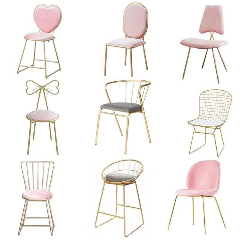 SWEET Pastel Pink Office Study Chair