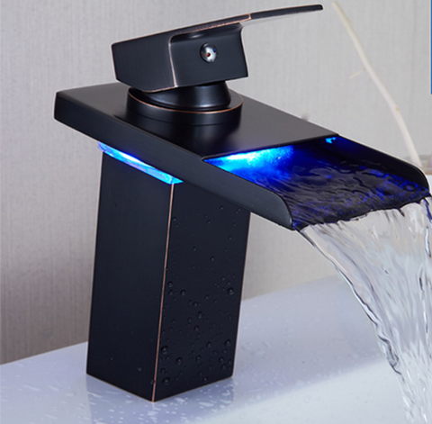 GALA Smart LED Black Tap Faucet