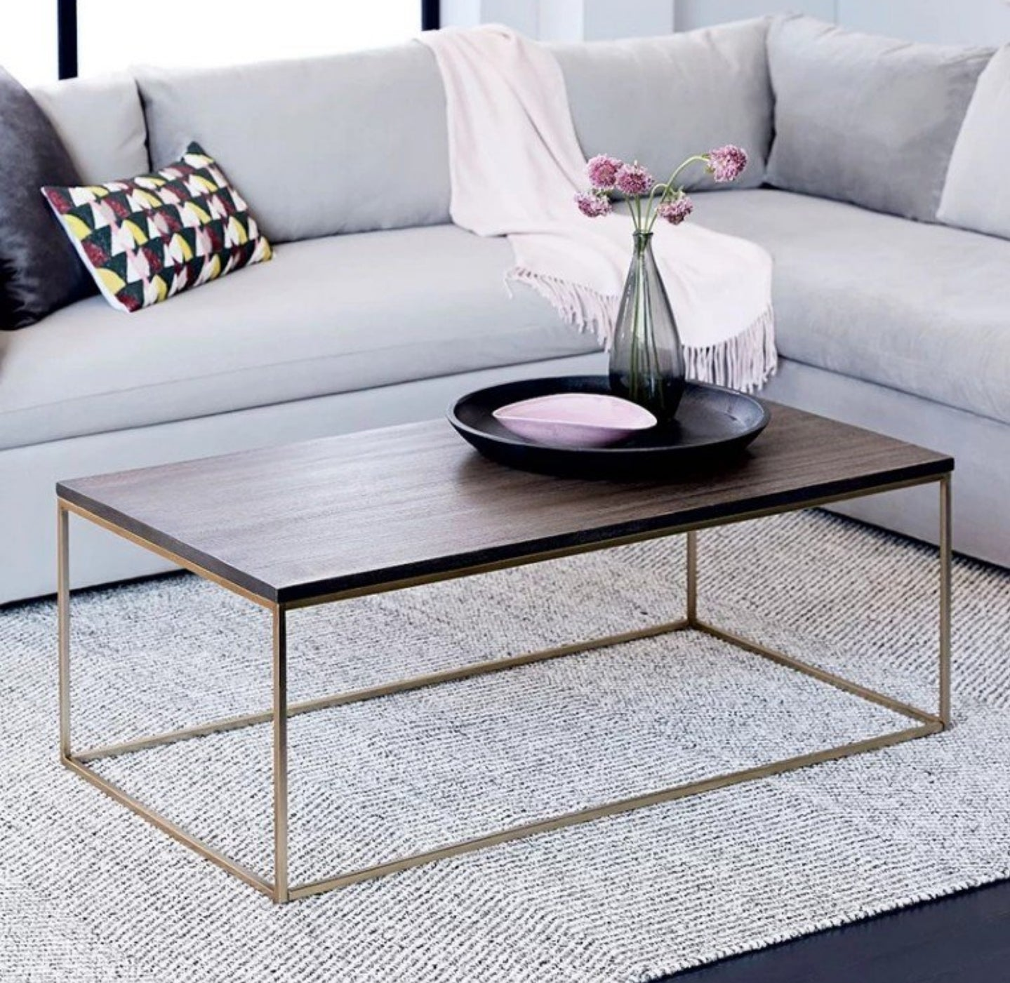 TOTEM Minimalist Solid Wood Coffee Table